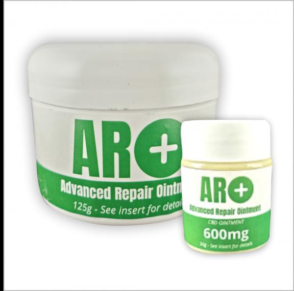 ARO+ and CBD Ointment 600mg